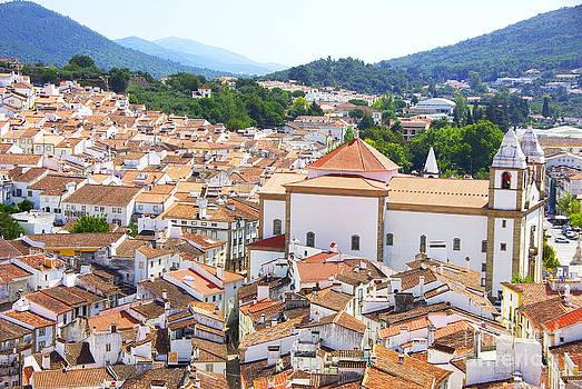 Landscape of Castelo de Vide village north of Alentejo region by Inacio Pires