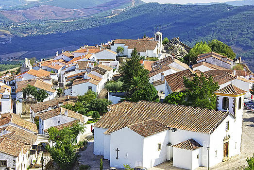 Landscape of Marvao Portugal. by Inacio Pires