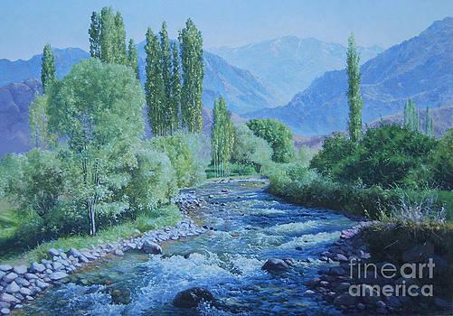landscape Uzbekistan by Sohib Razzakov