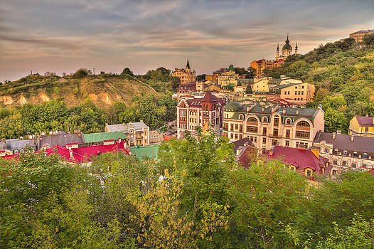 Landscape Valley by Dmitriy Mirochnik