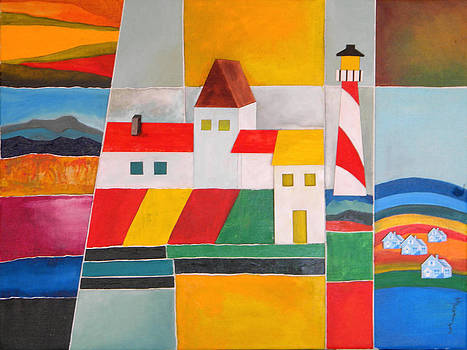 Landscapes by Miriam Besa