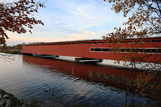 Langley Covered Bridge by Christy Woods