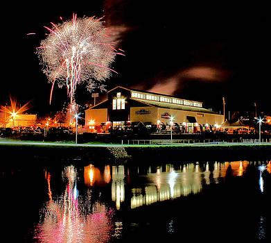 Matthew Winn - Lansing Lugnuts Fireworks