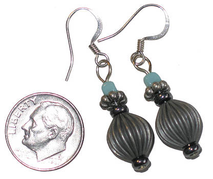 Lantern Earrings by Elizabeth Carrozza