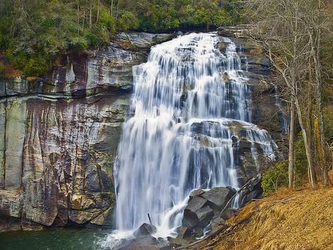 Large Waterfall by Susan Leggett