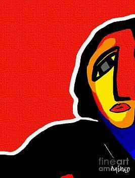 L'artiste by Mimo Krouzian