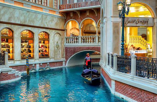 Las Vegas. Venetian  by Anna Rumiantseva