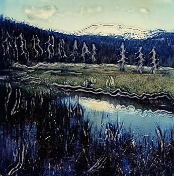 Lassen Landscape 2 by Gwen Strahan