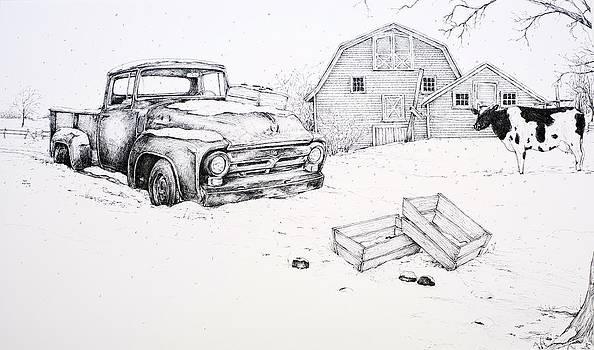 Late Season Apples by Scott Nelson