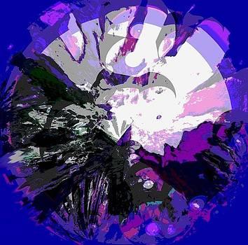 Latido de la tierra violet by Sara  Diciero