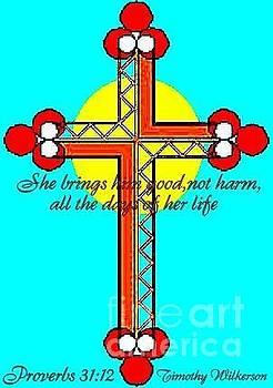 Lattice Cross by Timothy Wilkerson