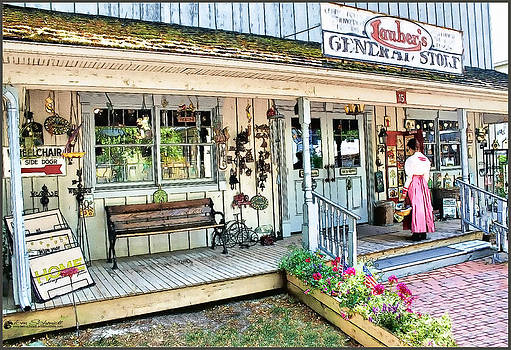 Lauber's General Store by Tom Schmidt