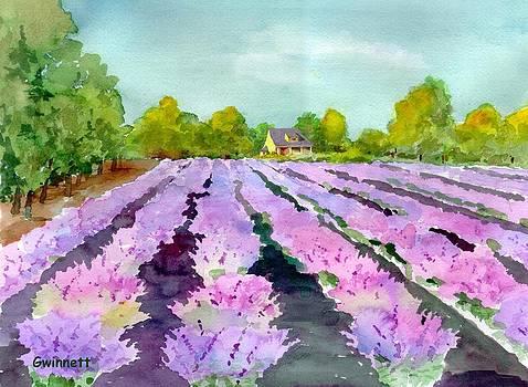 Kathleen  Gwinnett - Lavender Field