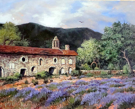 Lavender Fields by W  Scott Fenton