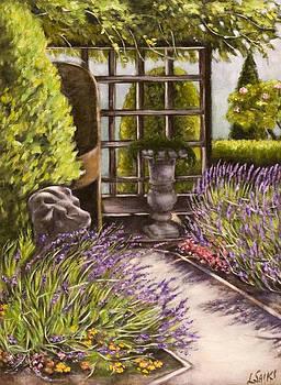 Lavender Garden by Lorna Saiki