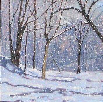 Lawrenece Park Triptych Part 2 by Joan McGivney