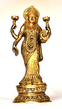 Kantilal Patel - Laxmi Hindu Fortune Goddess