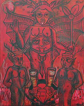 Le Diable  XV. by Dustin  Nowlin