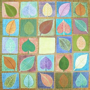 Leafy Squares by Jennifer Baird