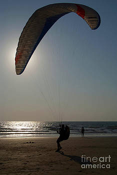 Learning to Paraglide Arambol by Serena Bowles