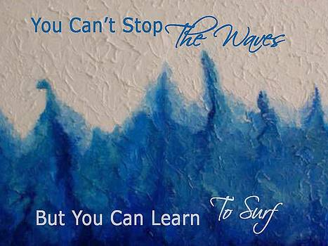 Learning To Surf by The Art With A Heart By Charlotte Phillips