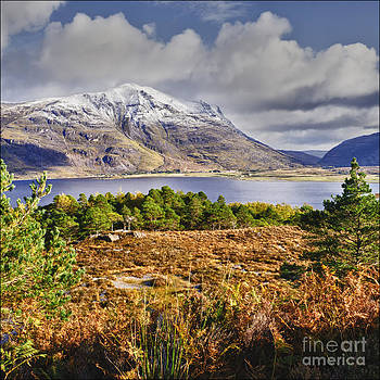 Leatach and Upper Loch Torridon by George Hodlin