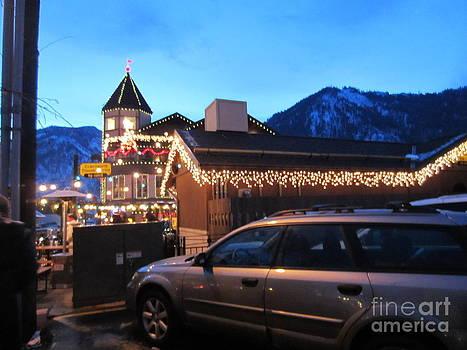 Leavenworth in the winter by Nicole Bibbens