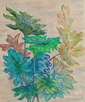 Leaves by Ziba Bastani