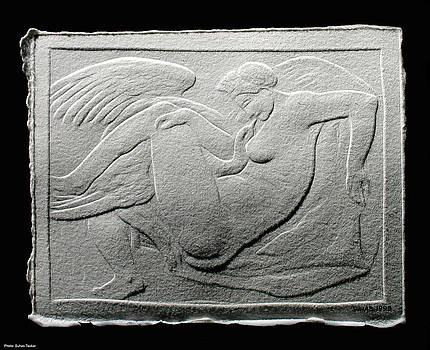 Leda and Swan by Suhas Tavkar
