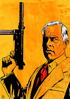 Lee Marvin by Giuseppe Cristiano