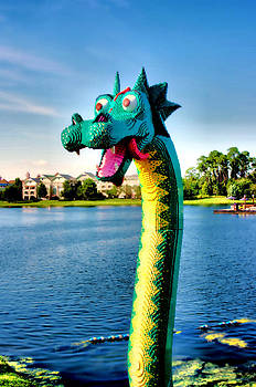 Lego Dragon by Thomas  MacPherson Jr
