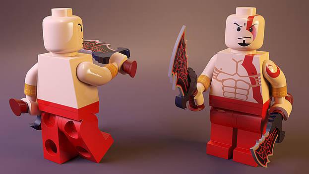 LEGO Kratos by Rimantas Vaiciulis