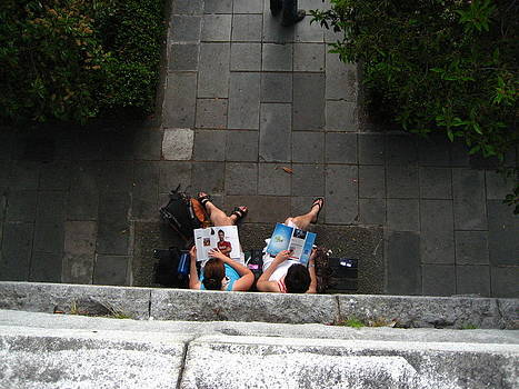 Legs Of Lounging Ladies Of Leisure by Shawn Hegan