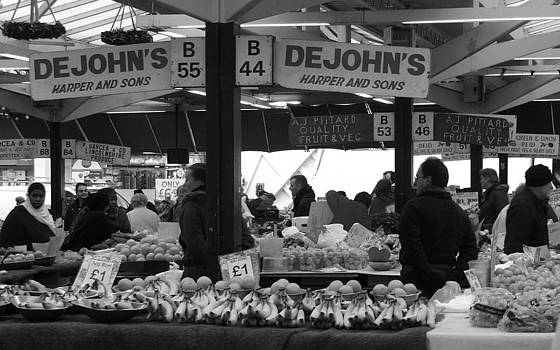 Leicester Market by Ruth MacLeod