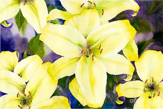 Lemon Lillies by Laura Ramsey