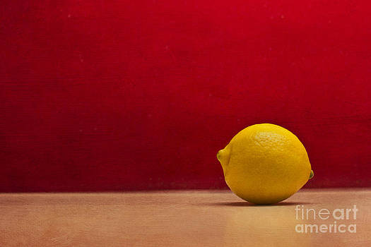 Lemon Yellow and Tomatoe Red by Catherine MacBride