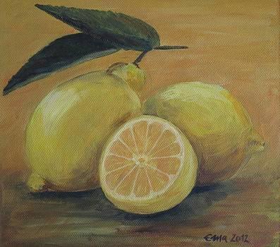 Lemons by Ema Dolinar Lovsin