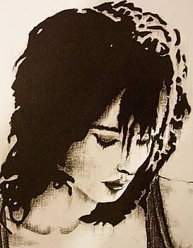 Lena close up by Greg Coffelt