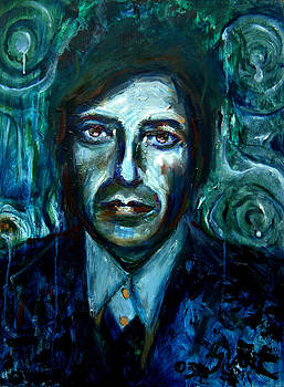 Leonard Cohen by Grant Aspinall