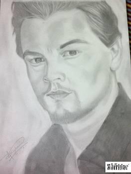 Leonardo Di Caprio by Amit Singhania