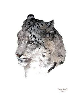 leopard Head by Larry Small