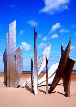 Les Braves on Omaha Beach by Kelsey Horne