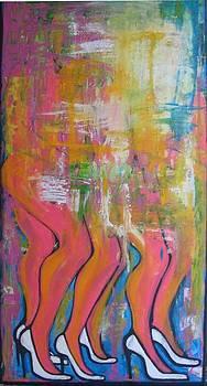 Les copines. by Fabienne Mandron