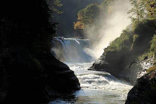 Letchworth Falls by Beverly Kobee