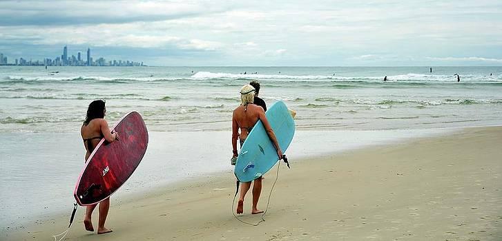Lets go surfing by Boyd Nesbitt