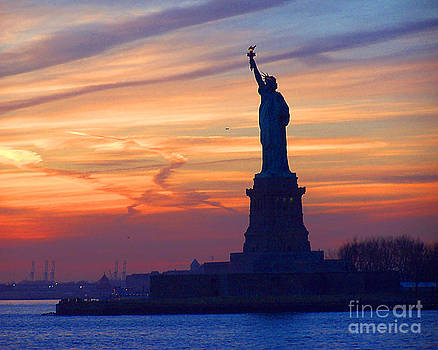 Anne Ferguson - Liberty Sunset