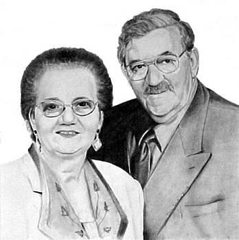Liduina and Vasco Bettencourt by Ana Tirolese