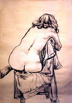 Life Drawing 1 by Cheryl Casey Ramirez