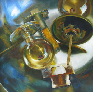 Life is just a Bowl of Doorknobs by Erin Hardin