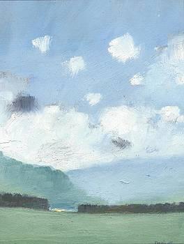 Light Blue Morning by Alan Daysh